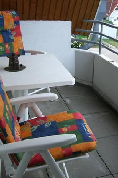 Balkon Westseite Fehmarn