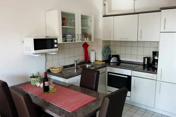 Küche mit Essbereich Fehmarn
